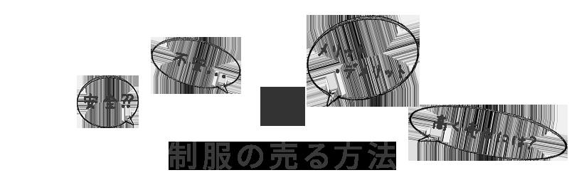 制服を売る方法